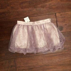 Baby Gap Glitter Bubble Skirt Size 12-18 mos